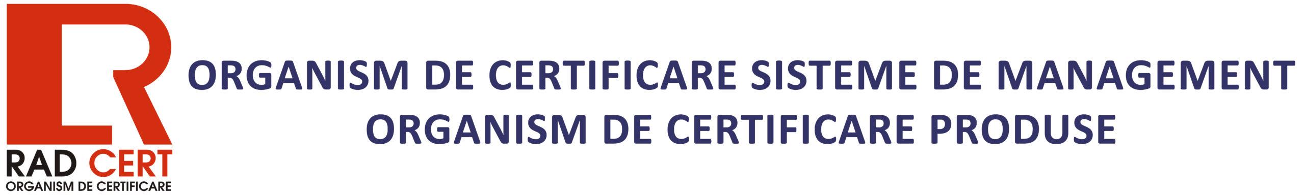 RAD CERT SRL - Organism de Certificare